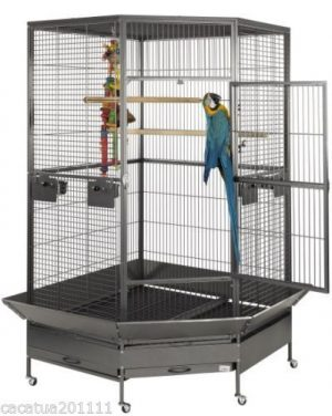 Liberta Raleigh 2nd Edition Premium Large Hexagonal Parrot Cage
