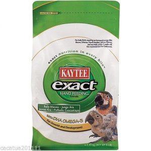 Kaytee Exact Handfeeding Baby Macaws Formula with DHS Omega-3 5lb