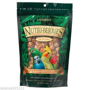 Lafeber Nutri-berries Tropical Fruit 300g